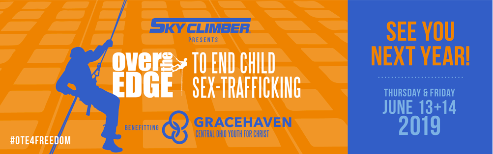 Grace Haven Over the Edge To End Child Sex-Trafficking