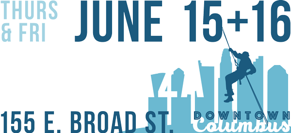 Thursday and Friday, June 16 and 17, 2016. PNC Plaza, 155 East Broad Street, Downtown Columbus.